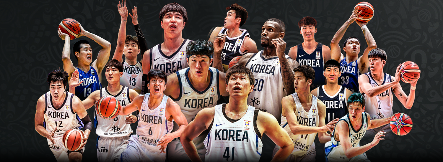 Image result for basketball world cup 2019 korea team