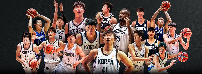Image result for basketball world cup 2019 korea team