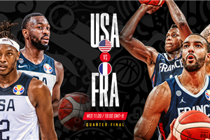 Can Team USA get past France in the Quarter-Finals?