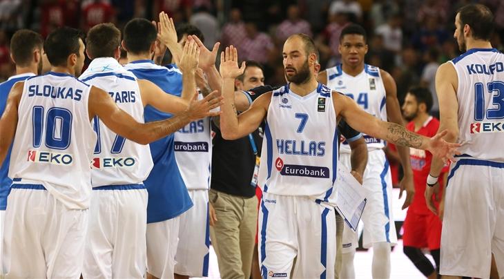 Ardilla Asia Gimnasia  Healthy, present Spanoulis has Greece primed for podium - FIBA.basketball