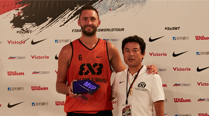 Top scorer Majstorovic named MVP at the 3x3 World Tour Utsunomiya Masters 2017