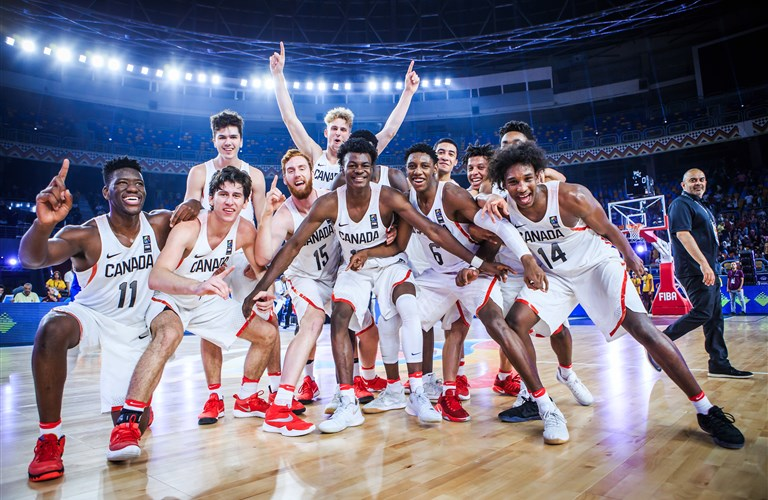 85ab4d2b0ac6f Canada claim first-ever FIBA U19 Basketball World Cup title in Cairo