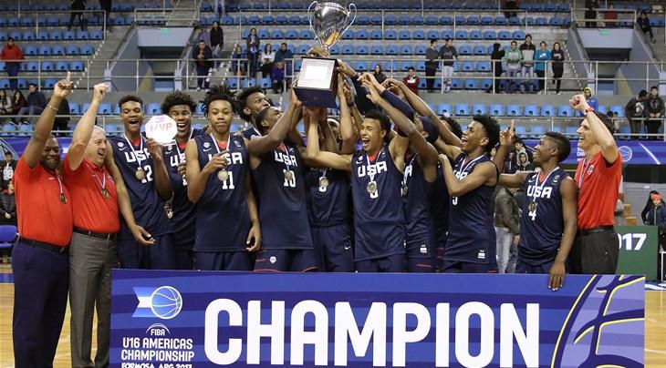 Estados Unidos conquistó el Campeonato FIBA Sub-16 de las Américas - FIBA  U16 Americas Championship 2017 - FIBA.basketball 22d80fa0e0eb8