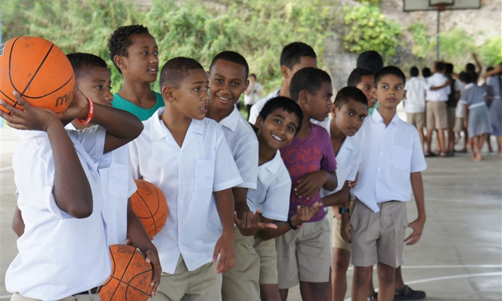 Basketball Fiji and FIBA creating a greater future for Fiji through sport
