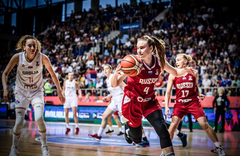 100% authentic 94952 c9c5a Musina  The real MVP, WNBA Draft night, the Vadeeva factor and family  first. Women s EuroBasket