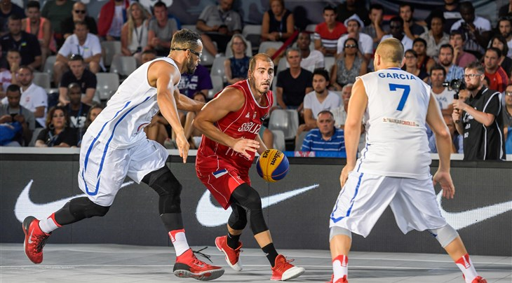 Serbia step up on Day 3 at FIBA 3x3 World Cup 2017