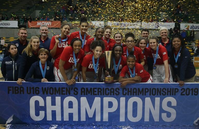 FIBA U16 Women's Americas Championship 2019 - FIBA basketball