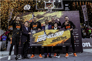 Zemun Master win FIBA 3x3 World Tour 2017 at the buzzer