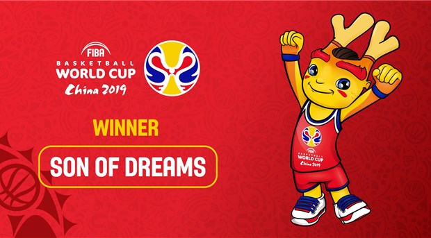 Fans choose Son of Dreams as Official Mascot of FIBA Basketball World Cup 2019