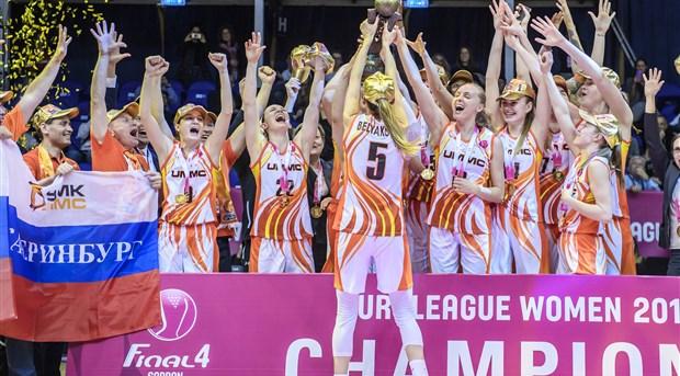 Dynamo Kursk - EuroLeague Women 2018-19 - FIBA basketball