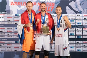 MVP Dejan Majstorovic headlines men's team of the tournament at FIBA 3x3 World Cup 2017