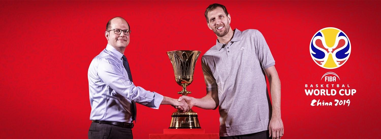 best website 13189 e9d4a FIBA Basketball World Cup legend Dirk Nowitzki becomes China 2019 global  ambassador, joining Yao and