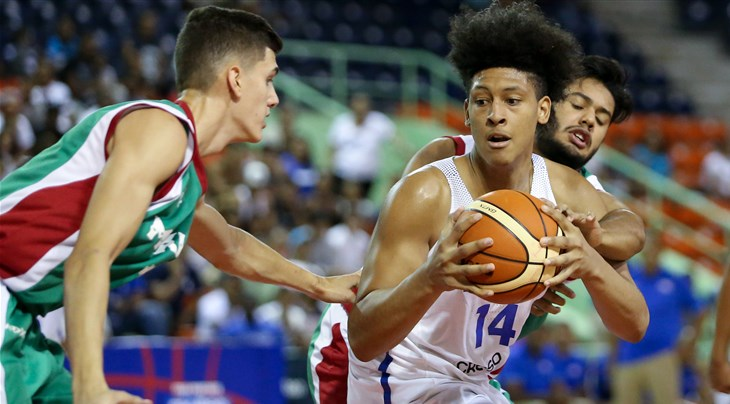 Frink y los dominicanos juegan para impresionar y volver a la Copa del  Mundo Sub-19. ROSELLE (Campeonato Sub-18 FIBA Americas 2018) ... 0075306592f6a