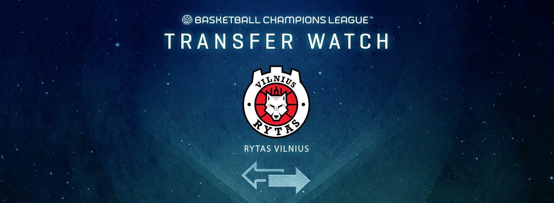 Rytas Vilnius Transfer Watch - Basketball Champions League 2019-20