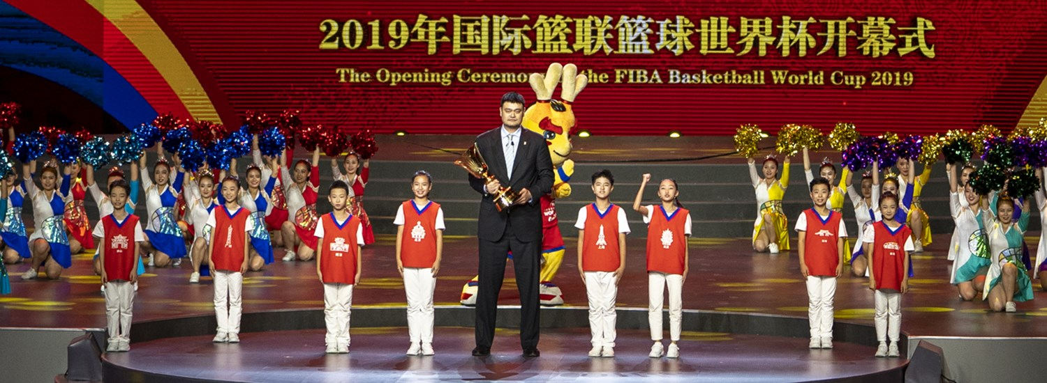 Opening Ceremony - FIBA Basketball World Cup 2019