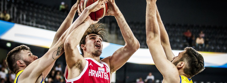 964ea2423572 Saric-led Croatia thrash Romania to qualify for the Second Round ...