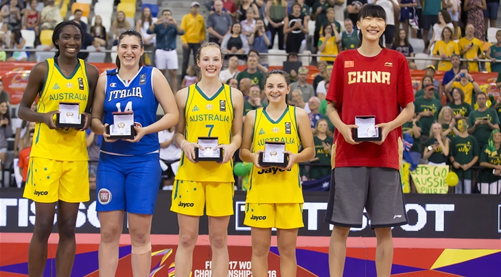 Magbegor named MVP of 2016 FIBA U17 Women's World Championship, headlines All-Star Five