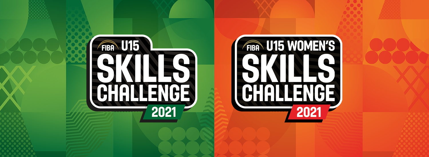 Teams confirmed for the FIBA U15 Skills Challenges 2021 Regional Qualifiers