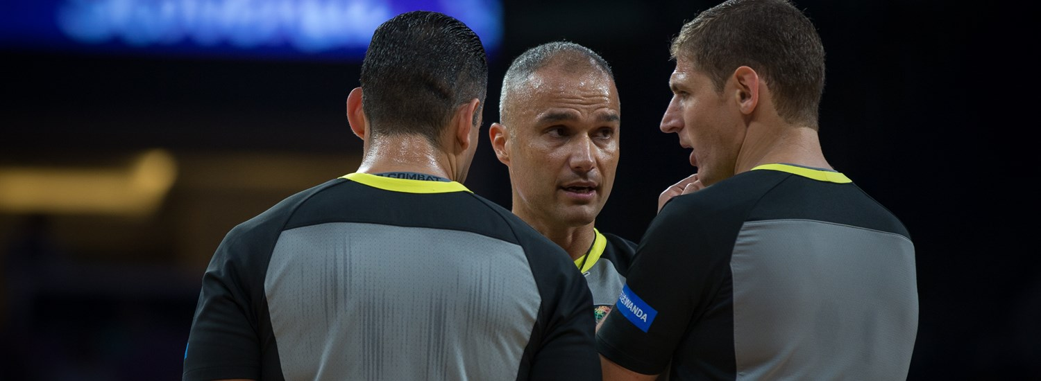 56 referees selected to officiate the FIBA Basketball World Cup