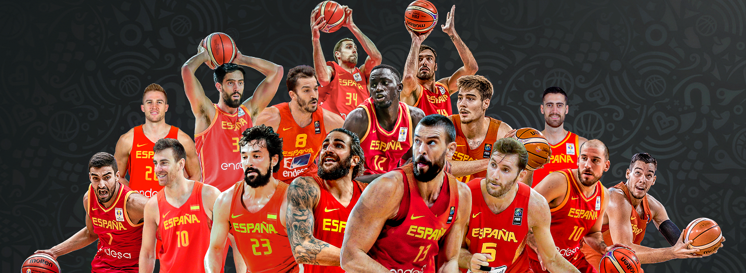 Image result for basketball world cup 2019 spain team