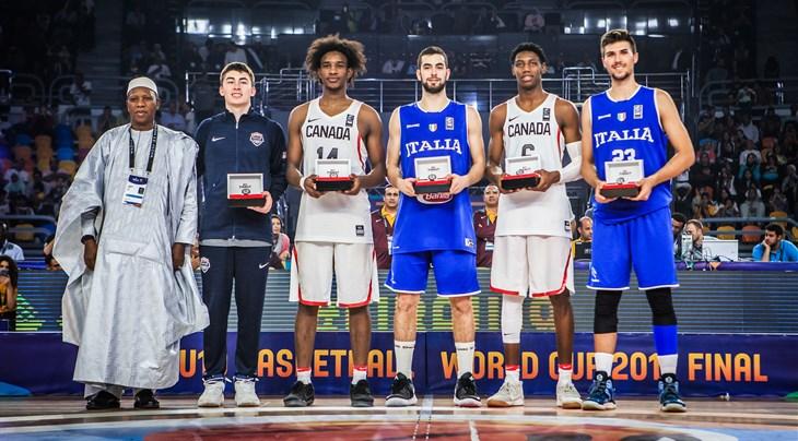 4a056ccc1b000 Champs Barrett and Kigab head All-Star Five - FIBA U19 Basketball ...