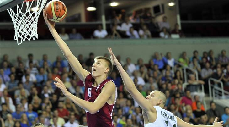 Latvia v Lithuania 2013 U18 European Championship Men DIVISION A, Riga- Arena Riga, Quarter-Finals 26 July 2013