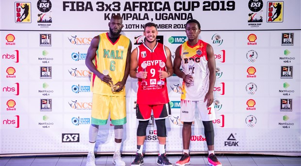 Mohamed headlines FIBA 3x3 Africa Cup men's team of the tournament