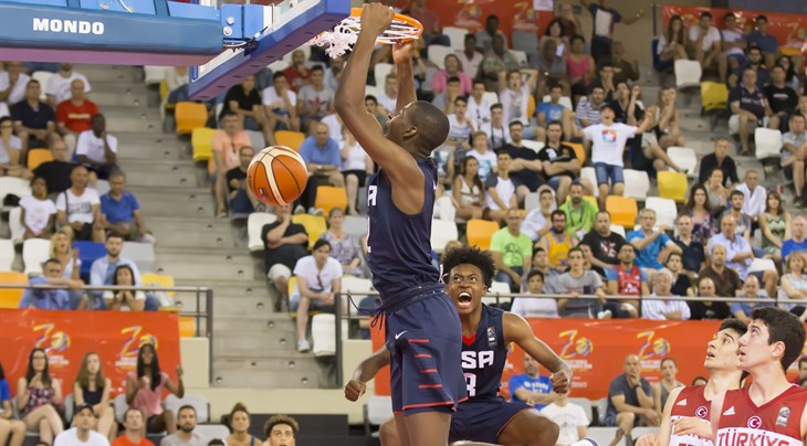 youth tournament games are being live streamed on fiba social media channels