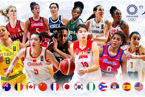 Tokyo 2020 Women\'s Olympic Basketball Tournament field complete