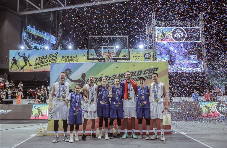 f0c5c555994 Serbia and Italy win FIBA 3x3 World Cup 2018