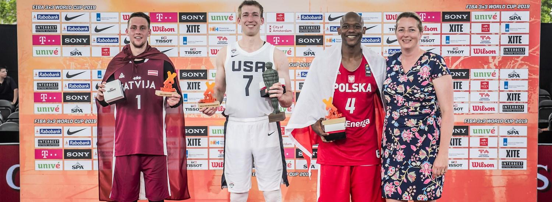 Hummel headlines men's team of the tournament at FIBA 3x3 World Cup