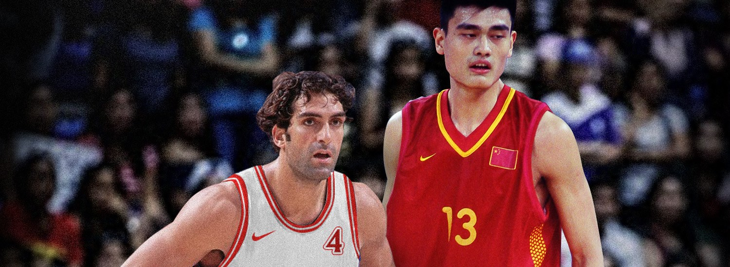 What if we got to see Rony Seikaly vs Yao Ming in FIBA Asia Cup 2001?