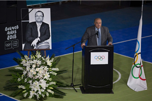 IOC Memorial for Baumann