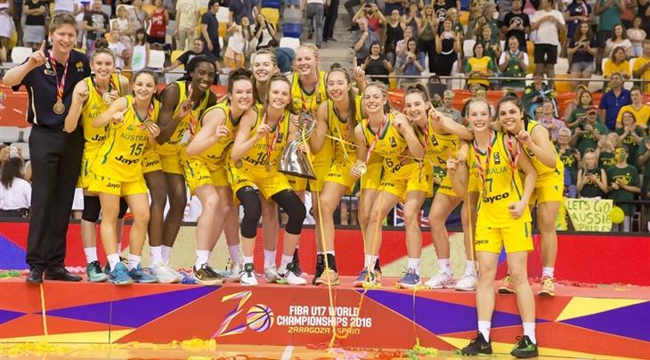 Australia win 2016 FIBA U17 Women's World Championship