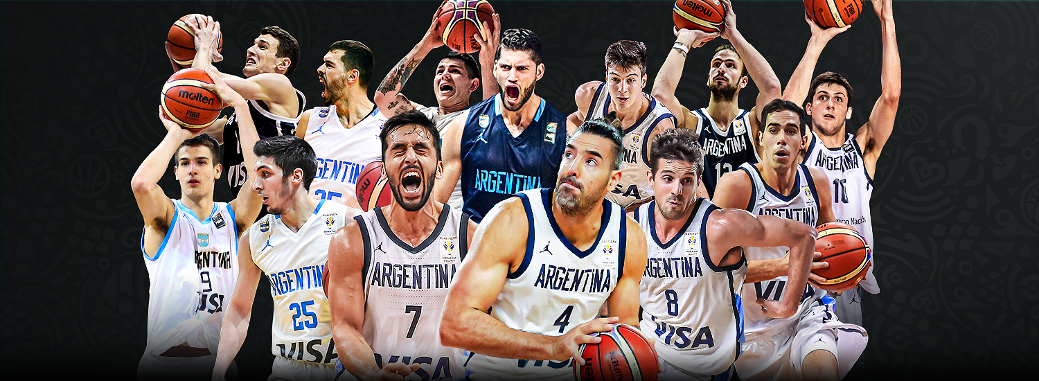 Image result for basketball world cup 2019 argentine  team