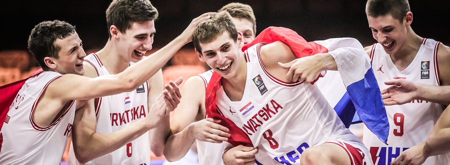 Roko Prkacin's teammates celebrate his MVP nomination