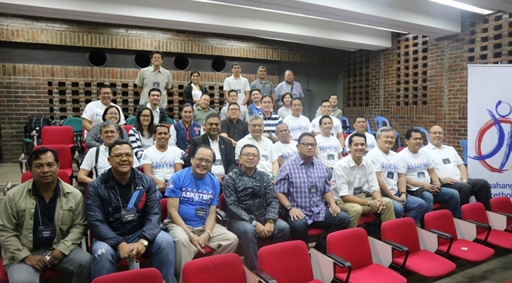 FIBA's New Competition System workshop in Manila, Philippines