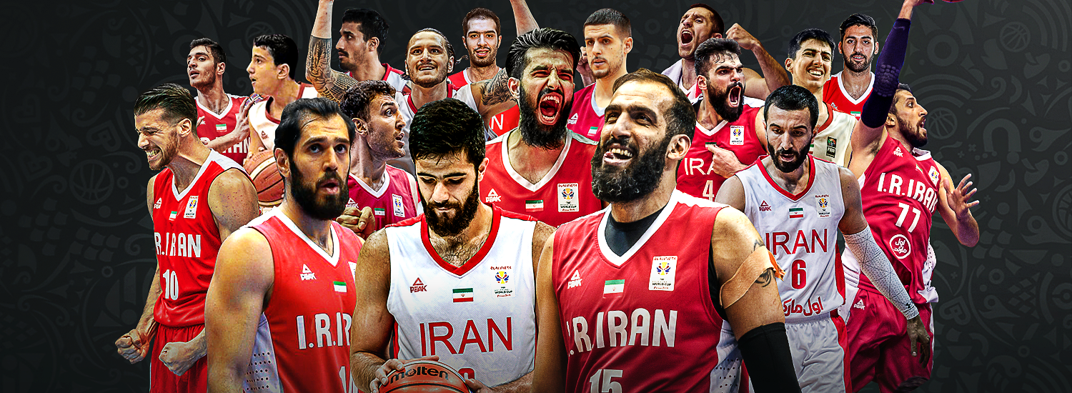 Image result for basketball world cup 2019 iran  team