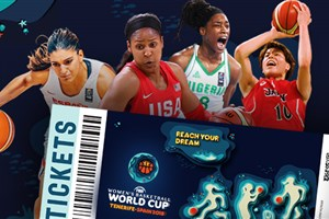 Tickets go on sale for FIBA Women's Basketball World Cup 2018