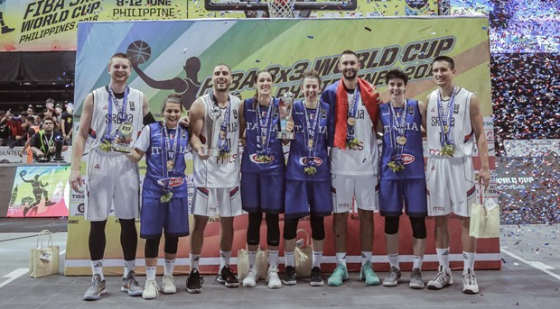 PHILIPPINES (FIBA 3x3 World Cup 2018) - Serbia successfully defended the  men s title while Italy rose to the women s category throne in the FIBA 3x3  World ... d47410ed6