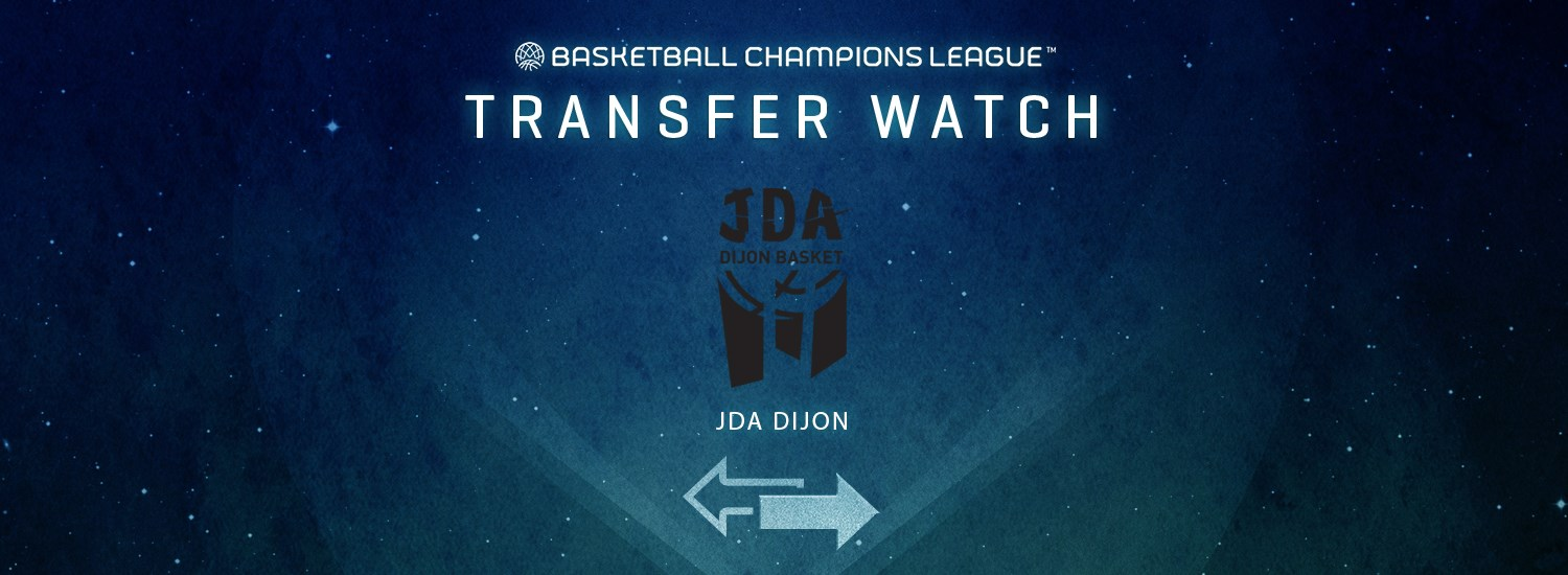 JDA Dijon Transfer Watch - Basketball Champions League 2019-20