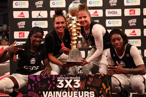 Team Paris and Las Campeonas shine at 3x3's Open de France