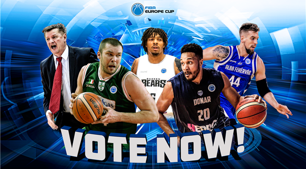 Vote for your favorite players in the FIBA Europe Cup 2017-18 Fan Awards!
