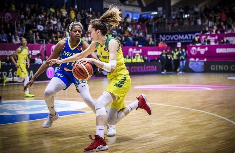 Calendario Eurobasket 2020.Euroleague Women 2019 20 Fiba Basketball