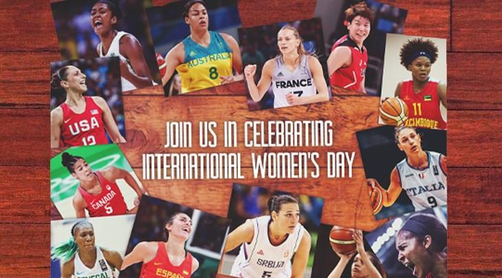 Fiba Basketteuses Des Les Journée Internationale Femmes Fêtent La LSjqzVpMUG