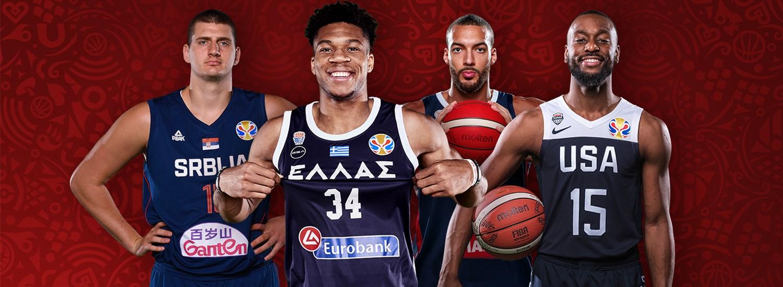 plutôt sympa 979b8 15d5d Nombre record de joueurs NBA présents - FIBA Coupe du Monde ...