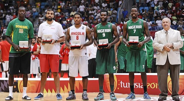 Quinteto Afrobasket
