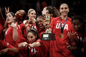 5 Kelsey Plum (USA), 6 Sue Bird (USA)