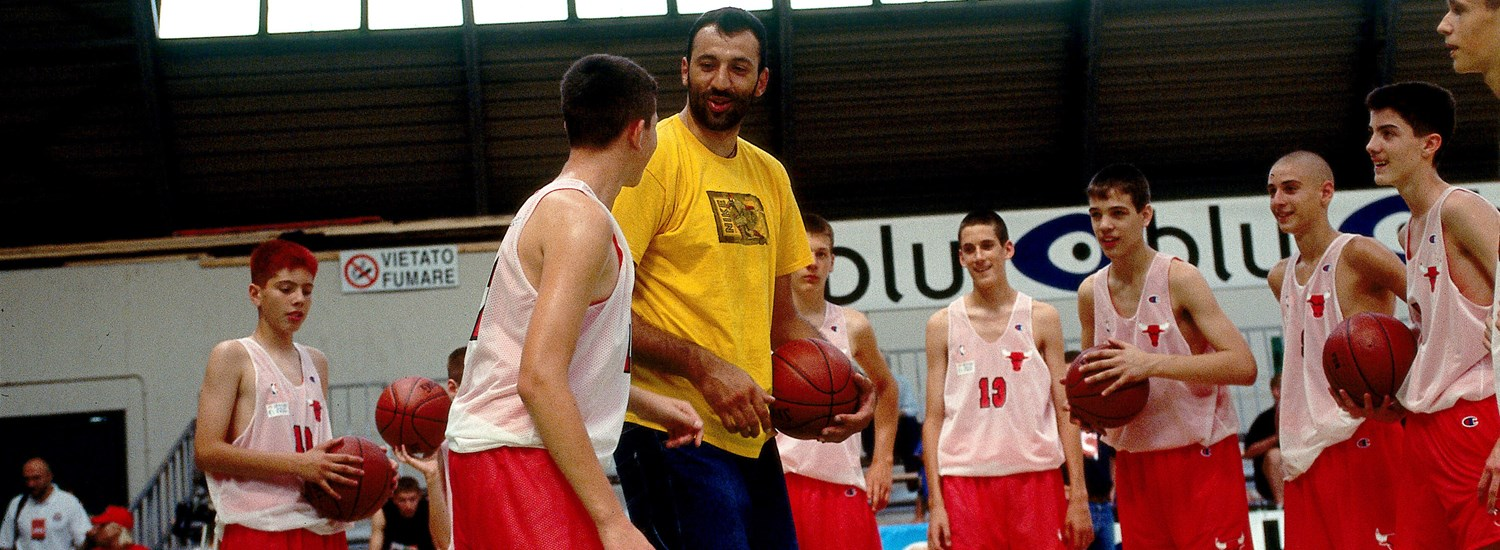 d922331af Marjanovic joins Divac and other Basketball Without Borders pioneers ...
