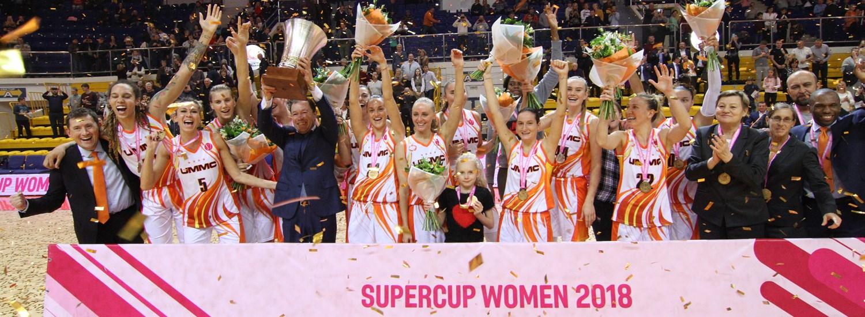 UMMC Ekaterinburg crowned SuperCup Women champions for